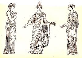 ancient women clothing