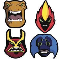 ben 10 masks