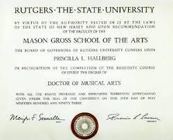 rutgers diploma