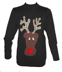 reindeer christmas jumpers