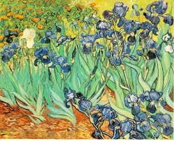 irises paintings