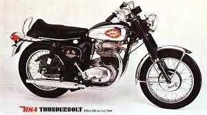 1967 bsa thunderbolt