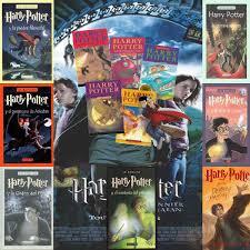 todos los libros de harry potter