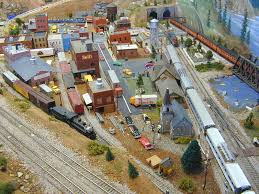 ho trains layouts