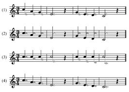 french horn scale