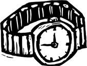 clip art watches