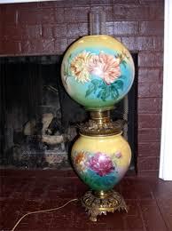 antiques oil lamps