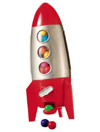 rocket gumball machine
