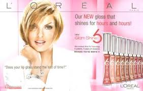 loreal paris glam shine