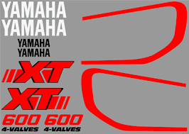 yamaha sticker set