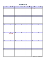 full page calendars