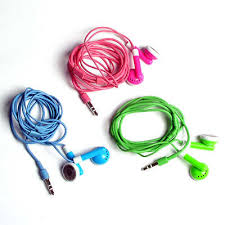 green ipod earphones
