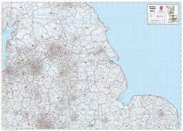 postcode map of england