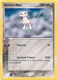 ancient mew pokemon