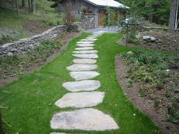 natural stone walkways