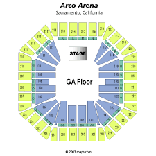 arco arena seating chart
