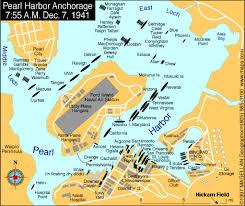 pearl harbor maps