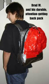 duct tape backpack