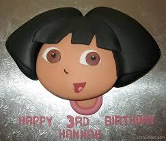 dora cake designs