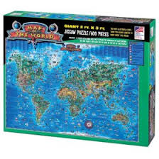 jigsaw puzzles map