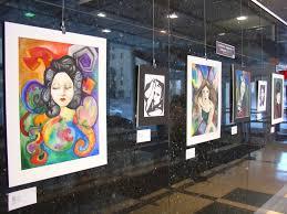 how to exhibit art