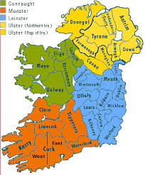 irish maps