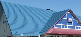 flat metal roofs