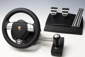 computer game steering wheel