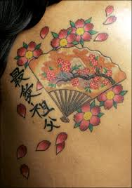 cherry blossoms tattoos pictures