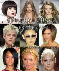 2009 hairstyles and colors