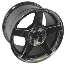 black chrome cobra wheels