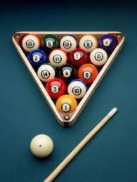 billiard rack