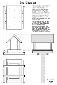 bird feeder blueprints