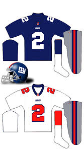 new york giants uniforms