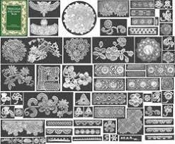 irish crochet jewelry