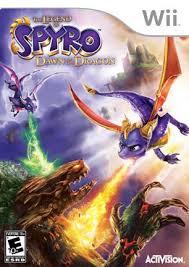 the legend of spyro wii