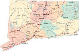 ct highway map