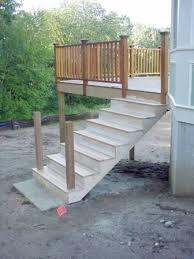 deck stairs landing