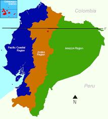 regions of ecuador