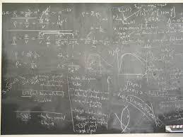 school chalk board