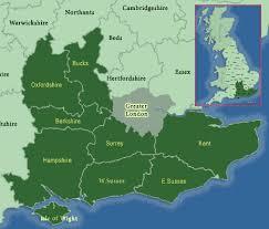 map of se london