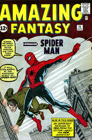 comic book spiderman