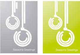 designer xmas cards