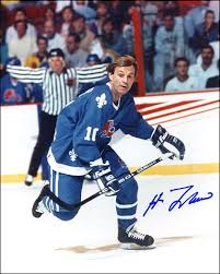 hockey autograph