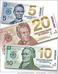pictures of different money