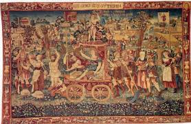 ancient tapestry