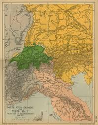 germany italy map