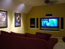 built in home theater