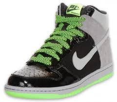 green nike dunks