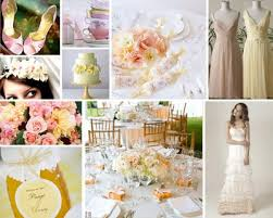 pink and yellow wedding